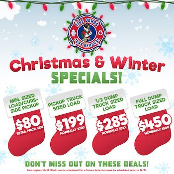 Christmas Junk Removal Specials