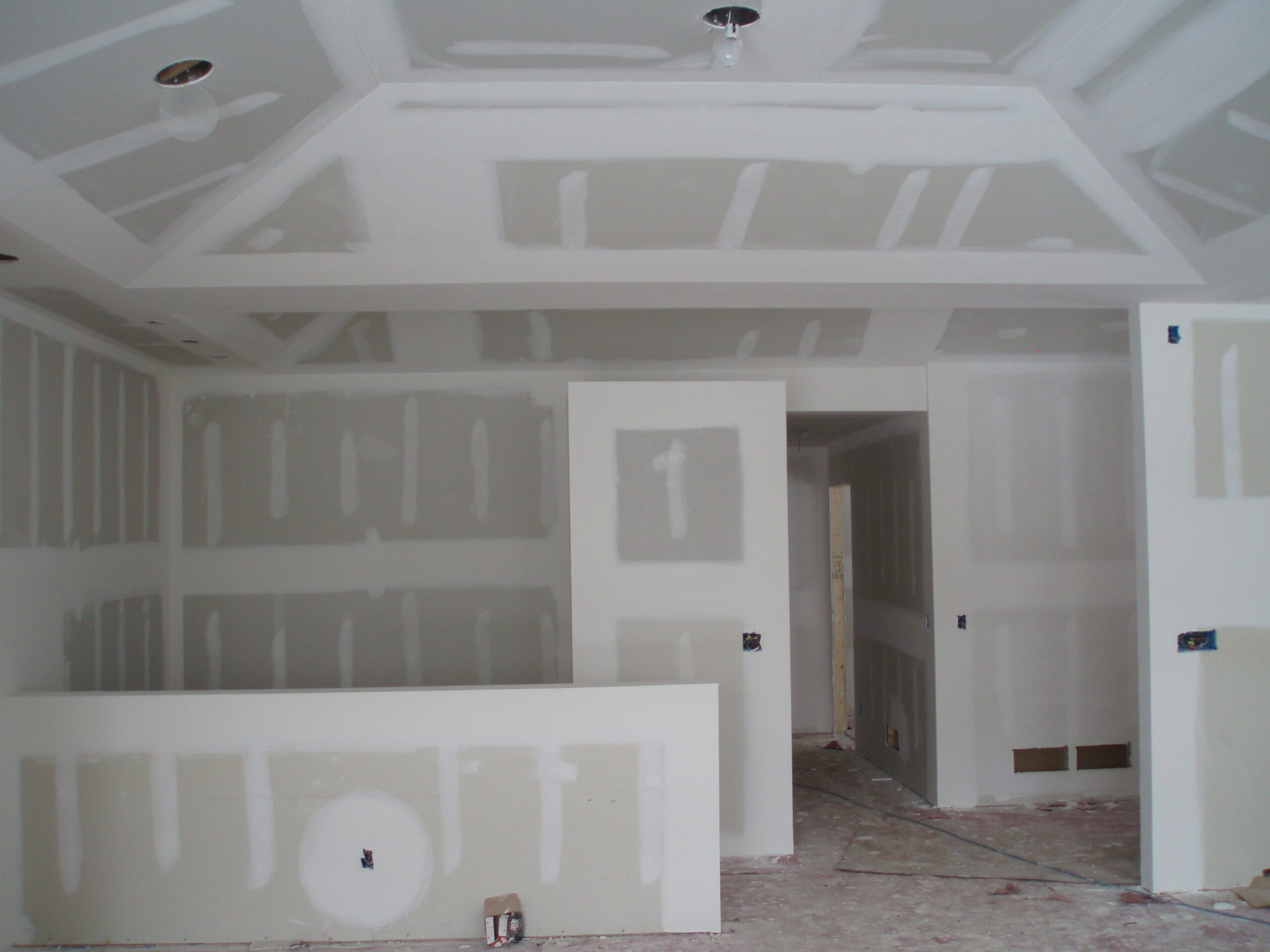 Drywall Sheetrock Cleanup In Indianapolis