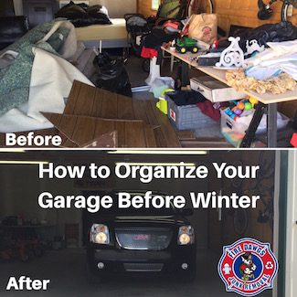 How to Organize Your Garage Before Winter
