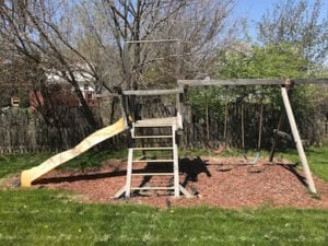 Indianapolis Swing Set Removal