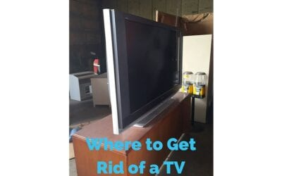 Where to Get Rid of an Old TV in Indianapolis IN